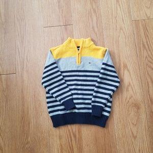 Little Boys Tommy Hilfiger 1/4 Zip Up Sweater